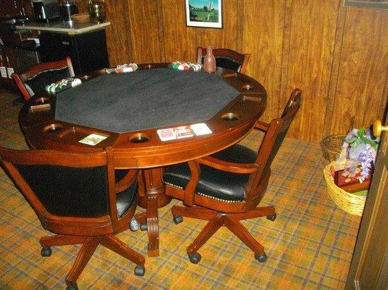 Holly Thorn House: Card table