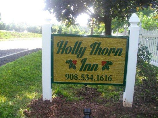 Holly Thorn House : Holly Thorn sign