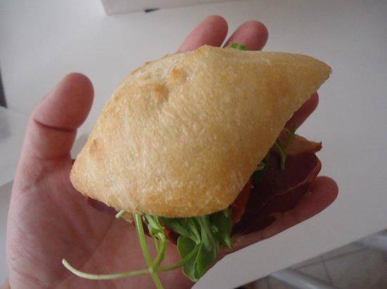 Gourmix: taille des sandwhiches