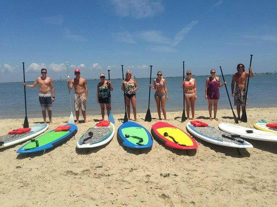Jersey Shore Adventures Standup Paddle Boarding: Family Group Paddle
