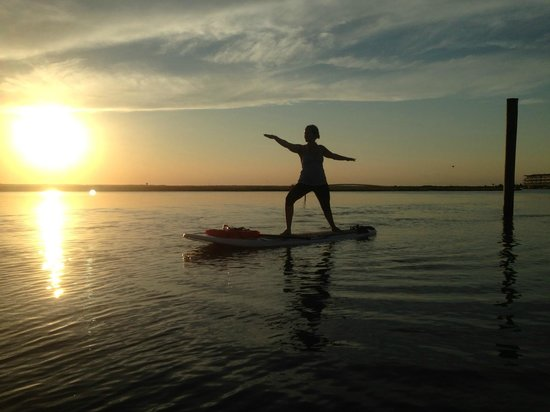 Jersey Shore Adventures Standup Paddle Boarding: Sunset SUP Yoga