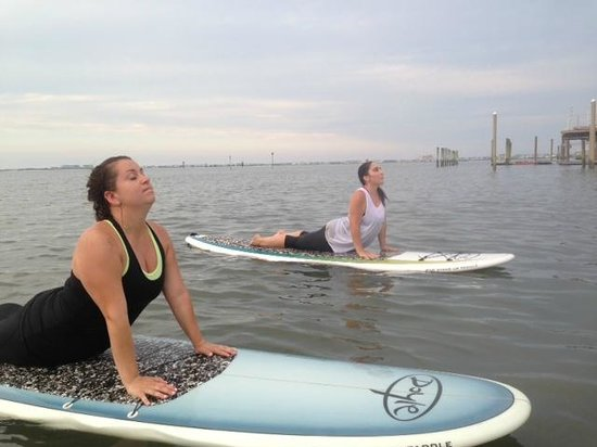 Jersey Shore Adventures Standup Paddle Boarding: SUP Yoga