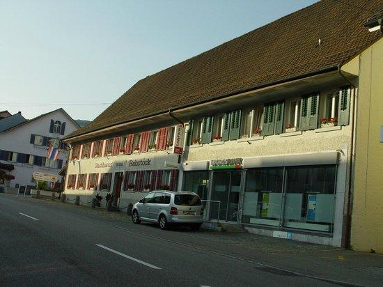 Hotel Rebstock: Fachada del hotel