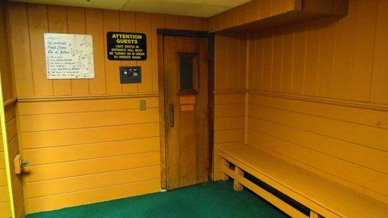Ramada Kittery: sauna