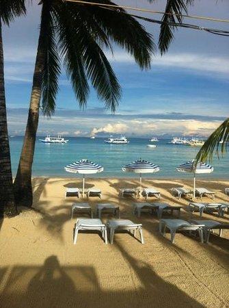 357 Boracay: view from breakfast