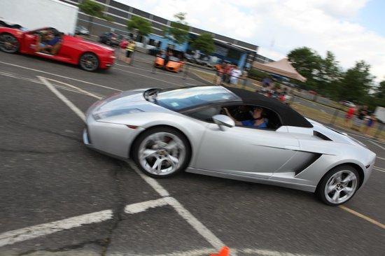 Lamborghini Gallardo At Speed Picture Of Gotham Dream Cars