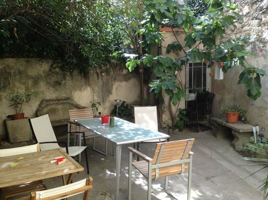 Precheurs Studios: The courtyard