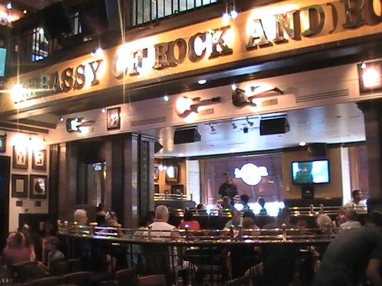 Hard Rock Cafe Birthday Dessert