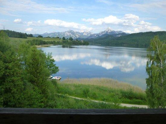Appartementhotel Seespitz: Wonderful view