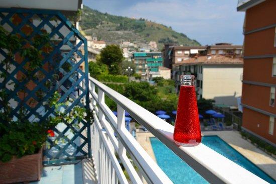 Panorama Santa Tecla Residence: Вид из номера