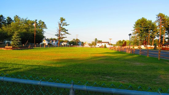 Old Orchard Beach Campground: from the pool