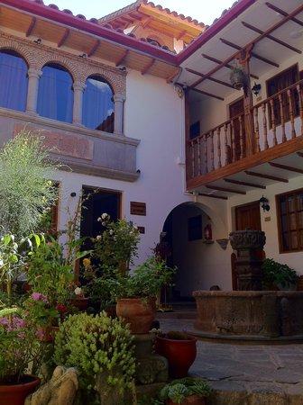 Hotel Rumi Punku: Área externa