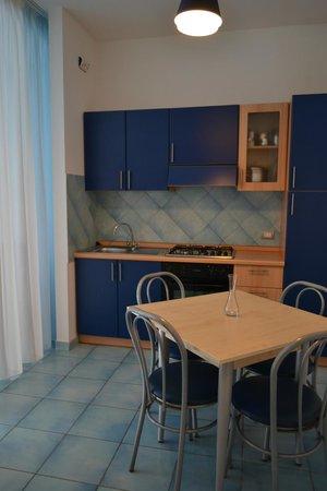 Santa Tecla ApartHotel: Кухня