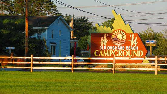 Old Orchard Beach Campground: sign