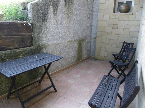 Casa Rural Higeralde: Terraza
