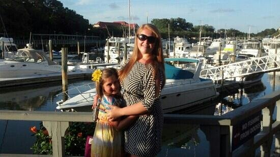 San Miguel's Mexican Cafe : The girls @ the harbor
