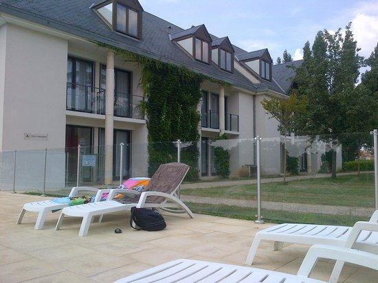 BEST WESTERN Manoir de Beauvoir: l'annexe près de la piscine
