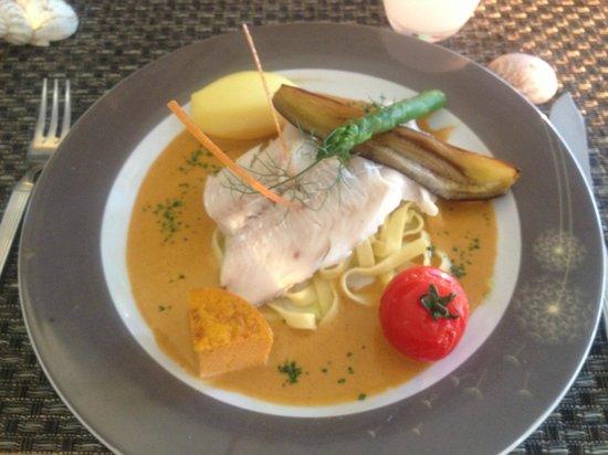 Restaurant Saint Victor : Secondo piatto di pesce