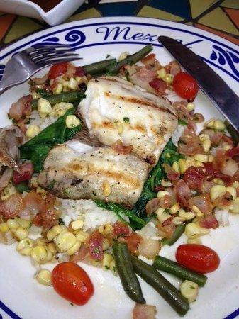 Mezcal Bistro & Bar: Fish so fresh