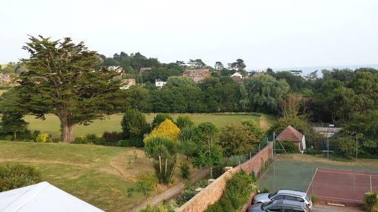 Devoncourt Resort & Apartments: Vue sur le jardin 2