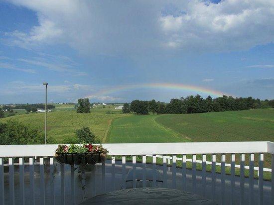 Rainbow at Zinck's Inn