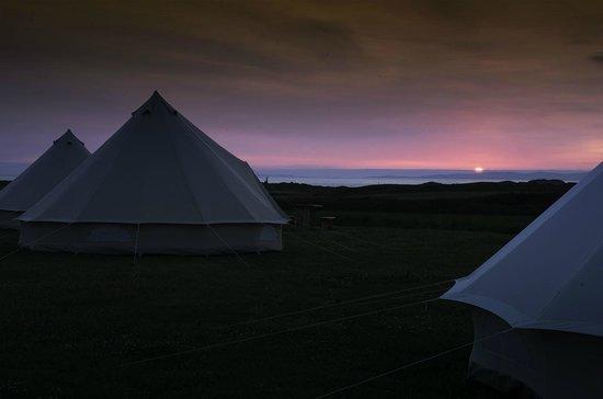 Machrihanish Holiday Park : bell tent