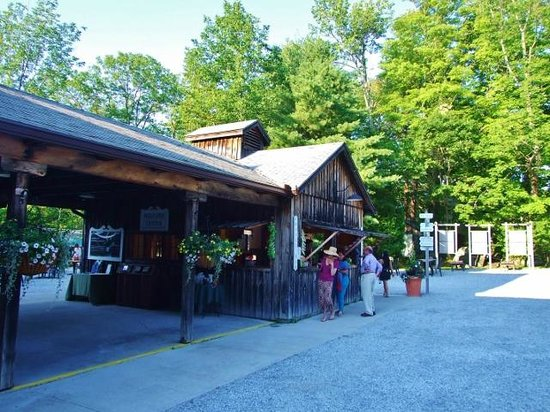 Jacob's Pillow: Snack bar (juice, soda, ice cream, etc.