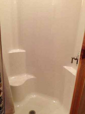 Beaver Lake View Resort: Lower level shower