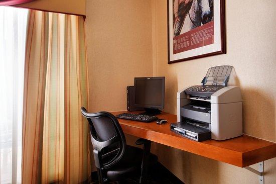 Fairfield Inn & Suites Austin South: Business Center