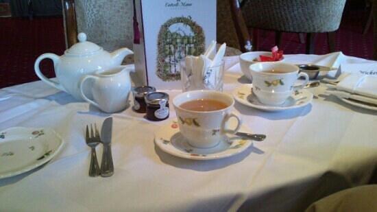 The Manor Restaurant: Afternoon tea......