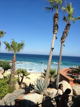 Sheraton Grand Los Cabos Hacienda del Mar: View of the beach by the pool