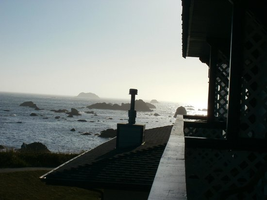 Oceanfront Lodge: view from room 1
