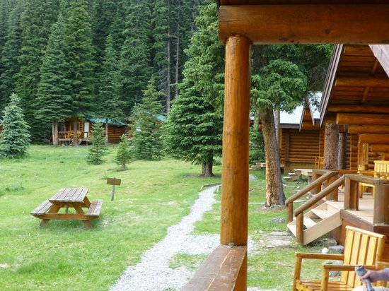 Shadow Lake Lodge : View from the Dining Cabin
