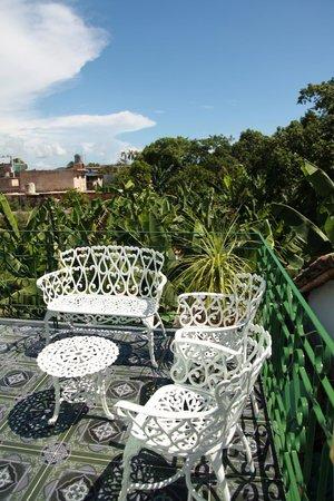 Casa Hostal Idael & Dania: my private balcony