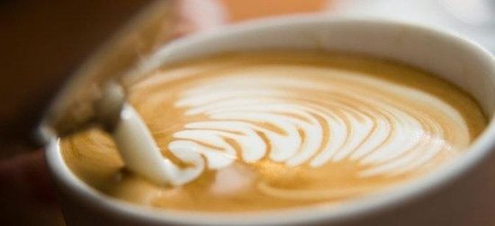 Royal Majesty Espresso bar Bakery: Latte art