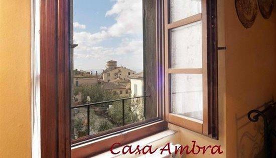 Casa Ambra: Vista dall'appartamento Piazza Passerini
