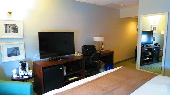 Rodd Moncton Hotel : room view