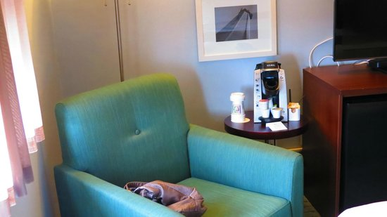 Rodd Moncton Hotel : keurig in room