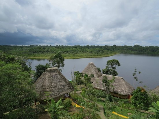 Napo Wildlife Center Ecolodge: View of the site from a tower