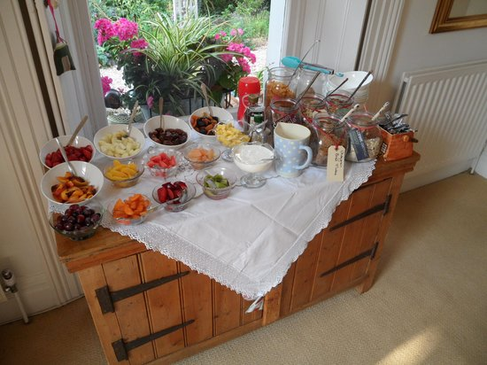 Rosehill Rooms and Cookery: Breakfast buffet