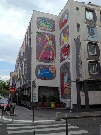 Hotel Axotel Lyon Perrache: The exterior