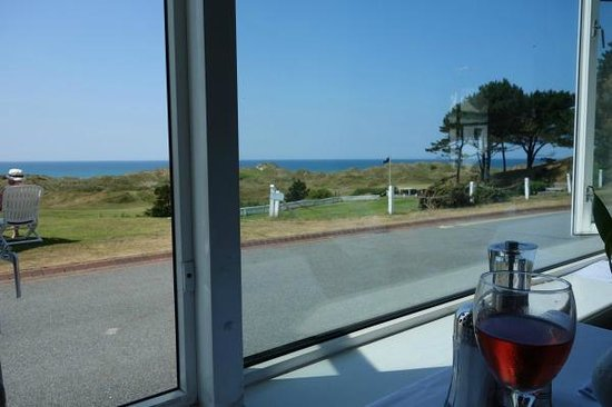 Aberdyfi (Aberdovey), UK: Lunch view