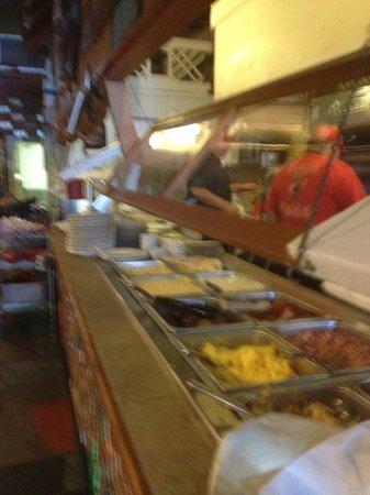 Sandcastle Cafe & Grill: Breakfast Buffet is a great value!