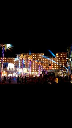 4th Of July Light Show Picture The Wharf Orange Beach