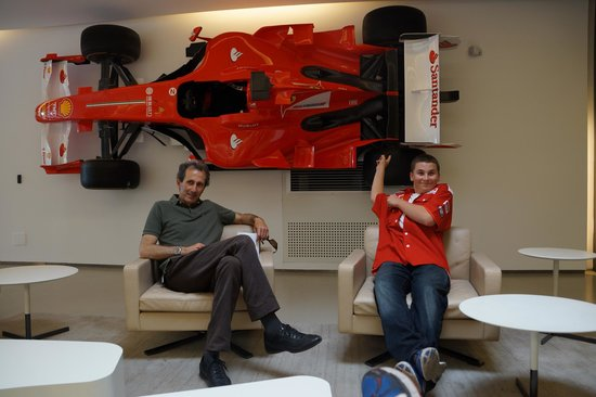Tuscany by GC: INSIDE FERRARI FACTORY OFFICE WITH CLIENTS KIDS