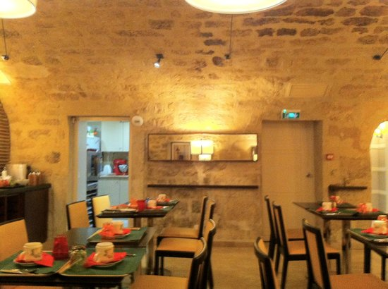 Best Western Hotel Folkestone Opera: underground dining room