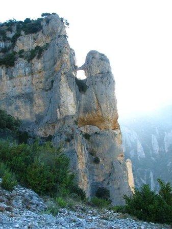 Apartahotel Valle de Rodellar : Along the way to Otin from Rodellar