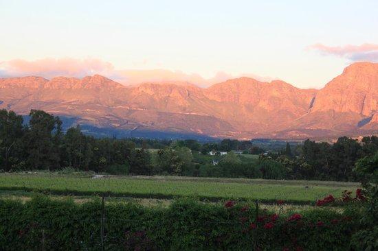 Goedemoed Country Inn : Sun set