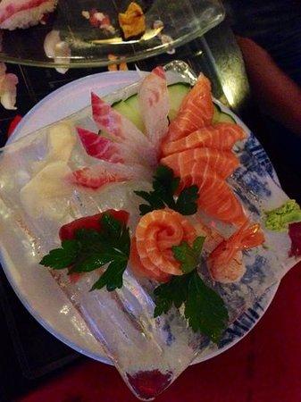 Ichiban: sashimi