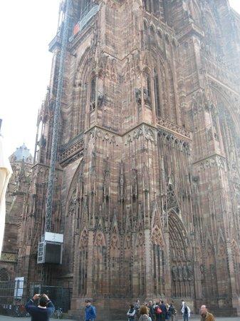 Catedral de Estrasburgo: Ascensor de la catedral